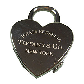 Tiffany & Co. Return to Tiffany Stainless Steel Watch Padlock Pendant