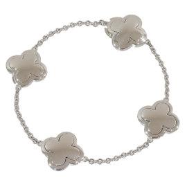Van Cleef & Arpels 18K White Gold Alhambra Bracelet
