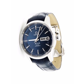Omega Deville 431.33.41.22.03.001 Stainless Steel Blue Dial Automatic 41mm Mens Watch
