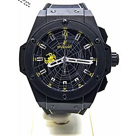Hublot King Power Spider Bang Anderson Silver LE 034/100 703.CI.1119.GR.SPD13 48mm Mens Watch