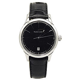 Maurice Lacroix Les Classiques LC1113-SS001-330 Stainless Steel & Leather Quartz 28mm Womens Watch