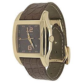 Chopard Two O Ten 127468-5003 18K Rose Gold & Brown Dial 29mm Unisex Watch