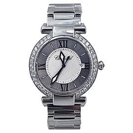 Chopard Imperiale Stainless Steel Quartz Diamond Bezel 36mm Womens Watch
