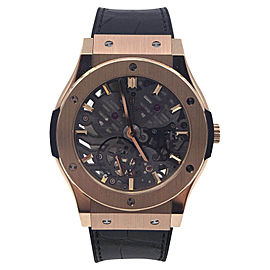 Hublot Classic Fusion Skeleton 5450X.0180.LR.PLP 18K Rose Gold 42mm Unisex Watch