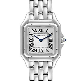 Cartier Panthere Midsize 27mm Steel Ladies Watch WSPN0007 Box Papers