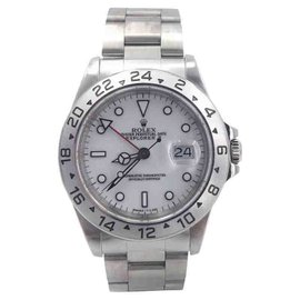 Rolex Explorer II 16570 Polar White Stainless Steel 40mm Mens Watch