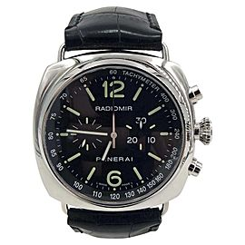 Panerai Radiomir PAM 204 Stainless Steel Chronograph Limited Edition 42mm Mens Watch