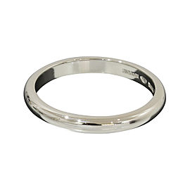 Bulgari Bvlgari PT950 Platinum Band Ring Size 7.5