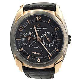 Vacheron Constantin Quai De L'ile 85050/000R-I022I 18K Rose Gold & Titanium Automatic 41mm Mens Watch