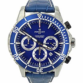Perrelet Seacraft 777 Diver A1054-3 Stainless Steel Automatic 45mm Mens Watch