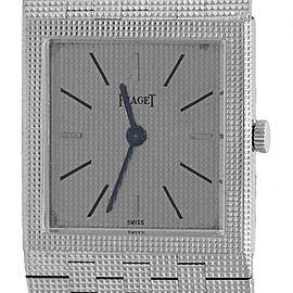 Piaget 9131C4 18K White Gold Manual Vintage 23mm Unisex Watch