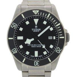 Tudor Pelagos 25500TN Titanium Black Date 42mm Mens Watch 2015