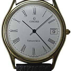 Vintage Tiffany & Co. Concord 920871 33.5mm Mens Watch