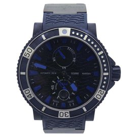Ulysse Nardin Maxi Marine 263-97 Rubber Coated Stainless Steel 45mm Mens Limited Edition Watch