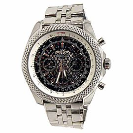 Breitling For Bentley 06 AB061112 Royal Ebony Dial Stainless Steel 49mm Mens Watch
