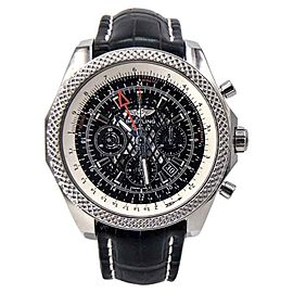 Breitling For Bentley 04 AB043112 Royal Ebony Dial Stainless Steel 49mm Mens Watch
