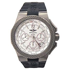 Breitling Bentley GMT B04 EB043335/G801 Titanium 45mm Mens Watch
