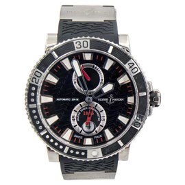 Ulysse Nardin Maxi Marine Diver 263-90-3/72 Black Titanium 45mm Mens Watch