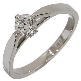 Van Cleef & Arpels Platinum with 0.30ct. Diamond Ring Size 5