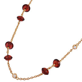 Vecchio 18K Rose Gold Diamond Necklace