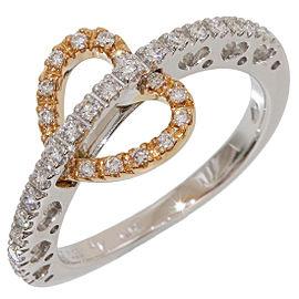 Vecchio 18K Rose Gold Diamond Ring