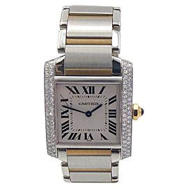 Cartier Tank Francaise W2TA0003/2301 25mm Womens Watch