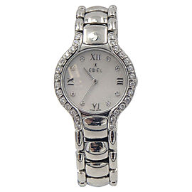 Ebel Beluga 9157428-20 Stainless Steel 29mm Womens Watch