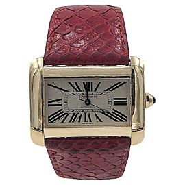 Cartier Tank Divan XL 2603 38mm Unisex Watch