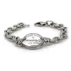 Tiffany & Co. Sterling Silver Return To Tiffany Tag Bracelet