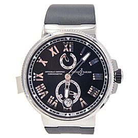 Ulysse Nardin Marine Chronometer 1183-122-42 45mm Mens Watch