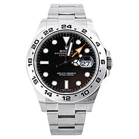 Rolex Explorer II 216570 40mm Mens Watch