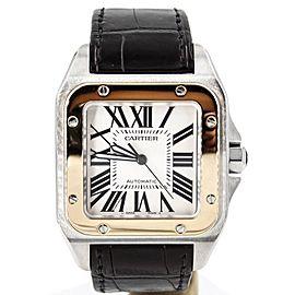 Cartier Santos 100 XL W20072X7 38mm Mens Watch