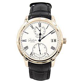 Glashutte Original Senator Chronometer 58-01-01-01-04 42mm Mens Watch