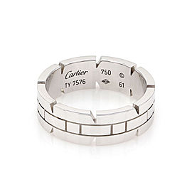 Cartier Tank Francaise 18K White Gold Band