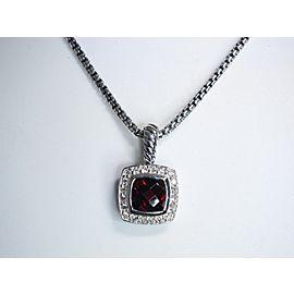 David Yurman Albion Sterling Silver Topaz, Diamond Necklace