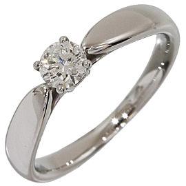 Tiffany & Co. Platinum Diamond Ring Size 3.5