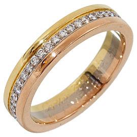 Cartier Trinity Diamond Ring Size 3.5