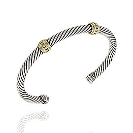 David Yurman Cable Sterling Silver Bracelet