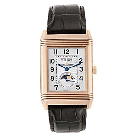 Jaeger LeCoultre Grande Reverso Calendar Moonphase Rose Gold Watch 273.2.84