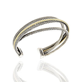 David Yurman Crossover Sterling Silver Bracelet