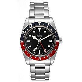 Tudor Heritage Black Bay GMT Pepsi Bezel Mens Watch 79830RB Box