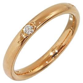 Pomellato 18K Rose Gold Diamond Wedding Ring Size 4.5