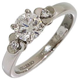 Platinum Diamond Ring Size 3.5
