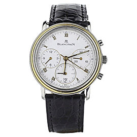 Blancpain Villeret 1185-1318-54 34mm Mens Watch