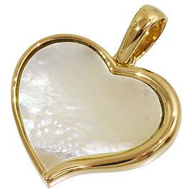Bvlgari Shell 18K Yellow Gold Pendant