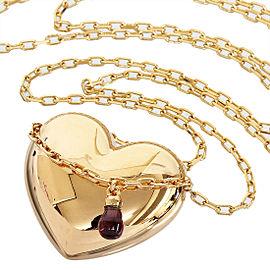Boucheron 8K Rose Gold Amethyst Pendant