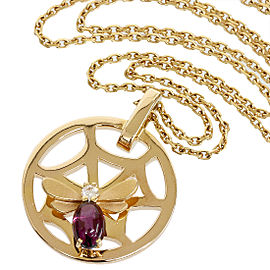 Chaumet Attrape 18K Rose Gold Amethyst, Diamond Pendant