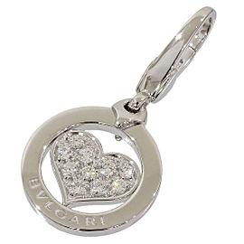 Bulgari BVLGARI 18K White Gold Diamond Pendant