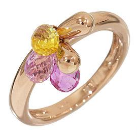 18K Rose Gold Ring Size 3.5