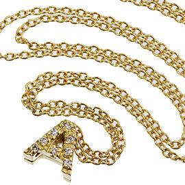Vecchio 18K Yellow Gold Diamond Pendant
